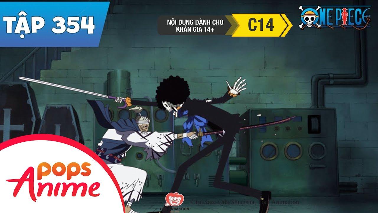 One Piece Tập 354 - Chúng Ta Sẽ Gặp Lại Nhau!! Brook Và Lời Hứa Tại Mỏm Đá Sinh Đôi - Đảo Hải Tặc