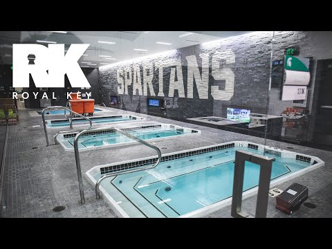 We Toured Michigan State's Amazing Football Facility & Sneaker Equipment Room | Royal Key