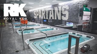 We Toured Michigan State's Amazing Football Facility & Sneaker Equipment Room   Royal Key