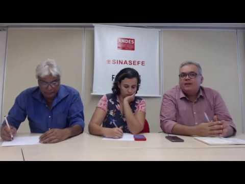 Previdência dos trabalhadores da Educação: Andes-SN, Fasubra e SINASEFE debatem o tema