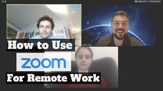 How to use Zoom for remote work and video conferencing