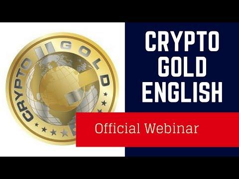 Krypto Gold English - Pre-Info [Webinar english] Cryptogold  kryptogold crypto gold mining