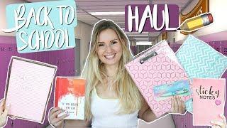 ENDLICH! Der XXL BACK TO SCHOOL Schulsachen Haul  2019 📚 + Verlosung! 💖Must Haves für die Schule!
