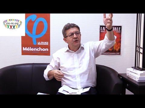 Jean-Luc Mélenchon et le référendum