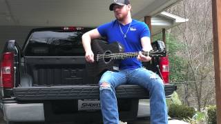 Justin Moore - Flying Down A Back Road Cover