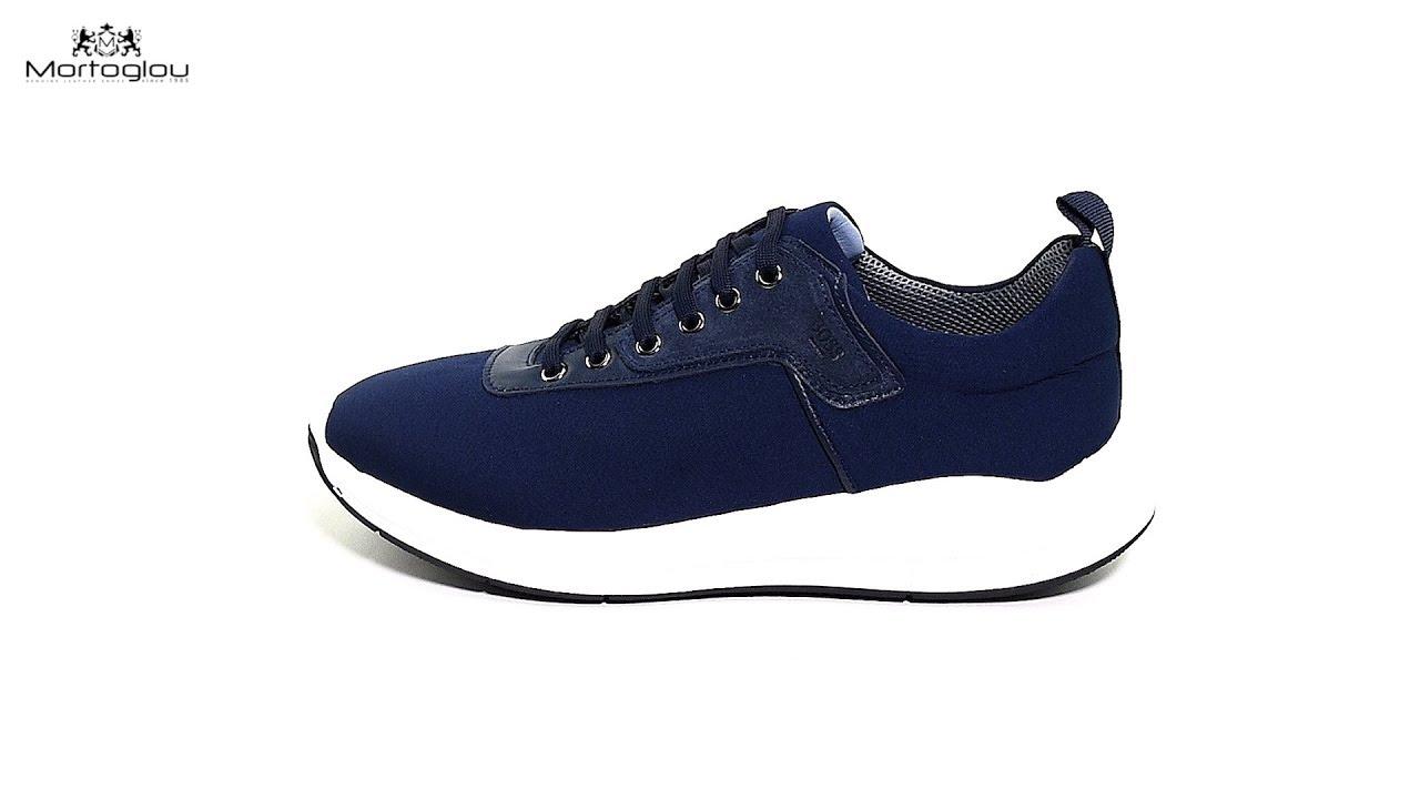 2372765d788 Ανδρικά Παπούτσια Casual L6104 Μπλε Ύφασμα Boss shoes