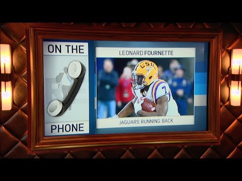Jacksonville Jaguars RB Leonard Fournette Dials in to The Rich Eisen Show | Full Interview | 7/27/17