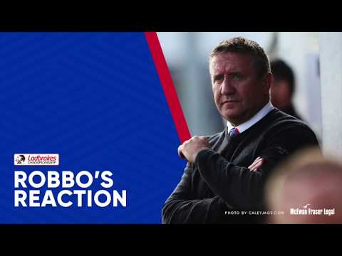 CaleyJagsTV : John Robertson Match Reaction v Brechin City : 28/11/17