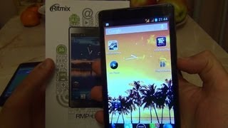 Недорогой смартфон 6 дюймов Ritmix RMP-600 на Андроид 4.1 / Арстайл /