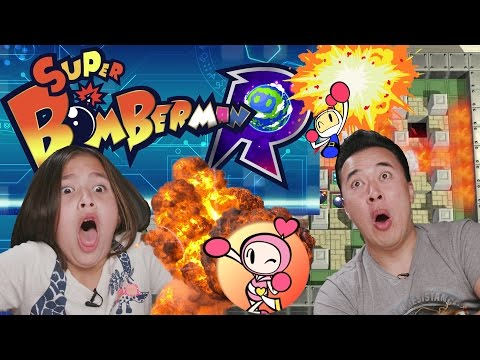 WATCH OUT FOR THE BOMB!!! Playing SUPER BOMBERMAN R for the Nintendo Switch!