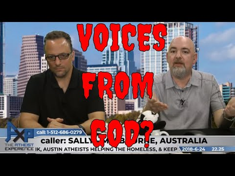 Voices from God vs Intuition - Pattern Seeking Animals | Sally - Australia | AXP 22.25