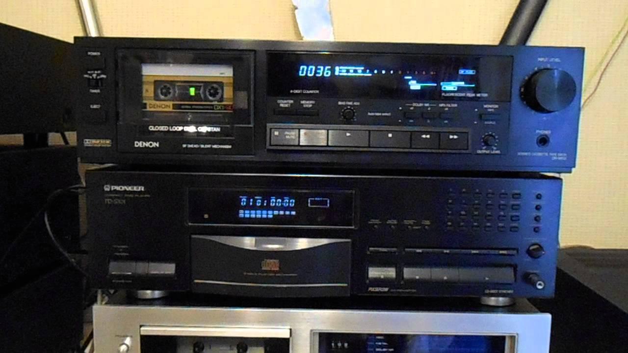 DENON DR-M33 Vintage Cassette Deck