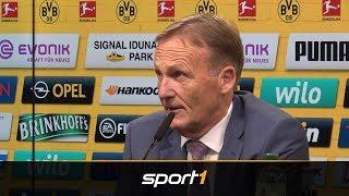 Wirbel um Stürmersuche beim BVB: Watzke mit Medienschelte | SPORT1