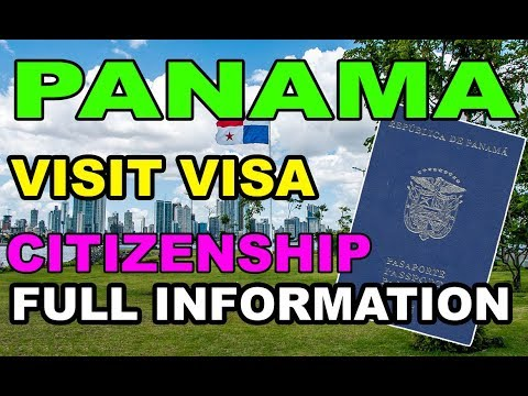 Panama Visit Visa [Citizenship] [Business Visa] in Urdu / Hindi 2018 By Premier Visa Consultancy