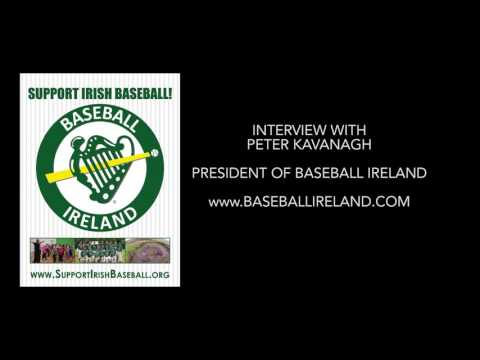 Talkin' Irish Baseball with Baseball Ireland President Peter Kavanagh