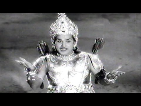 Sri Krishnarjuna Yuddam Climax Scene - Akkineni Nageshwara Rao