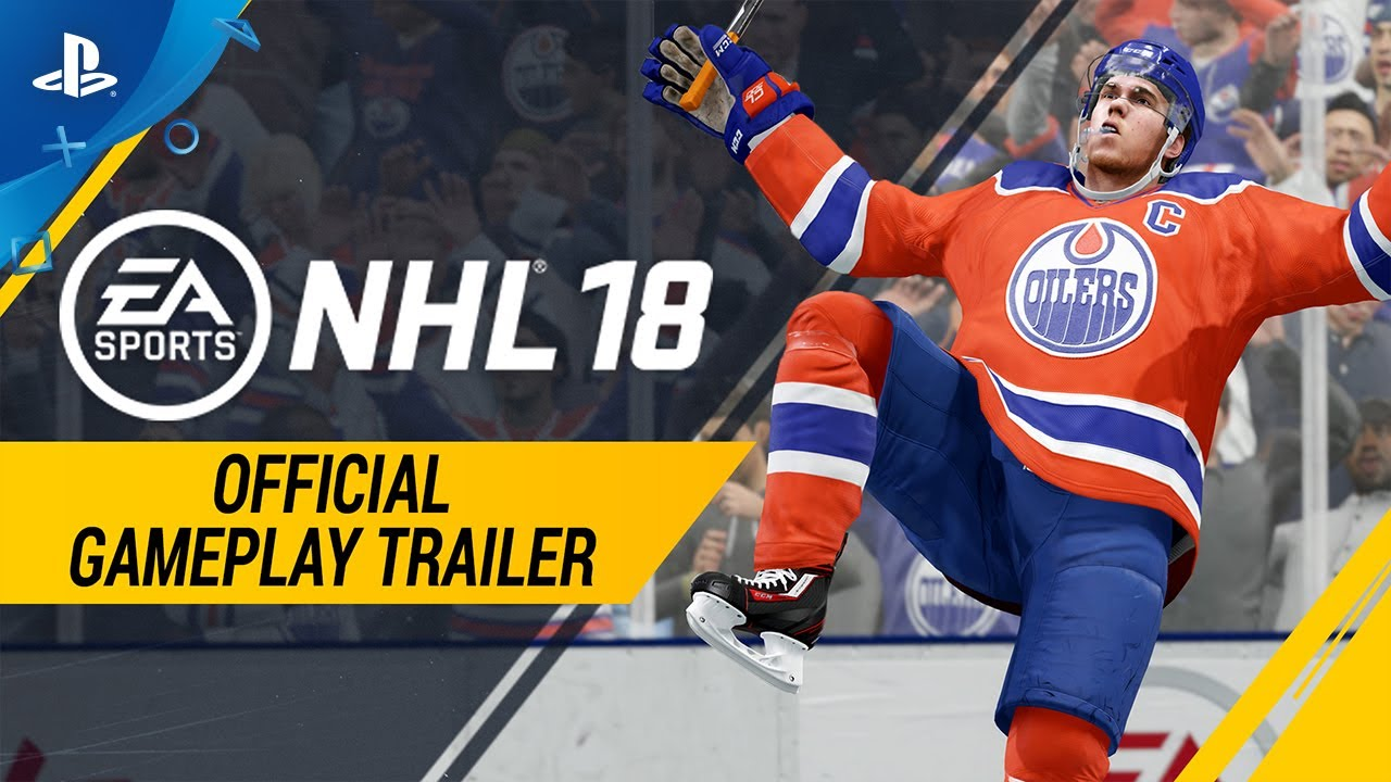 Nhl 18 Official Gameplay Trailer Ps4 Youtube