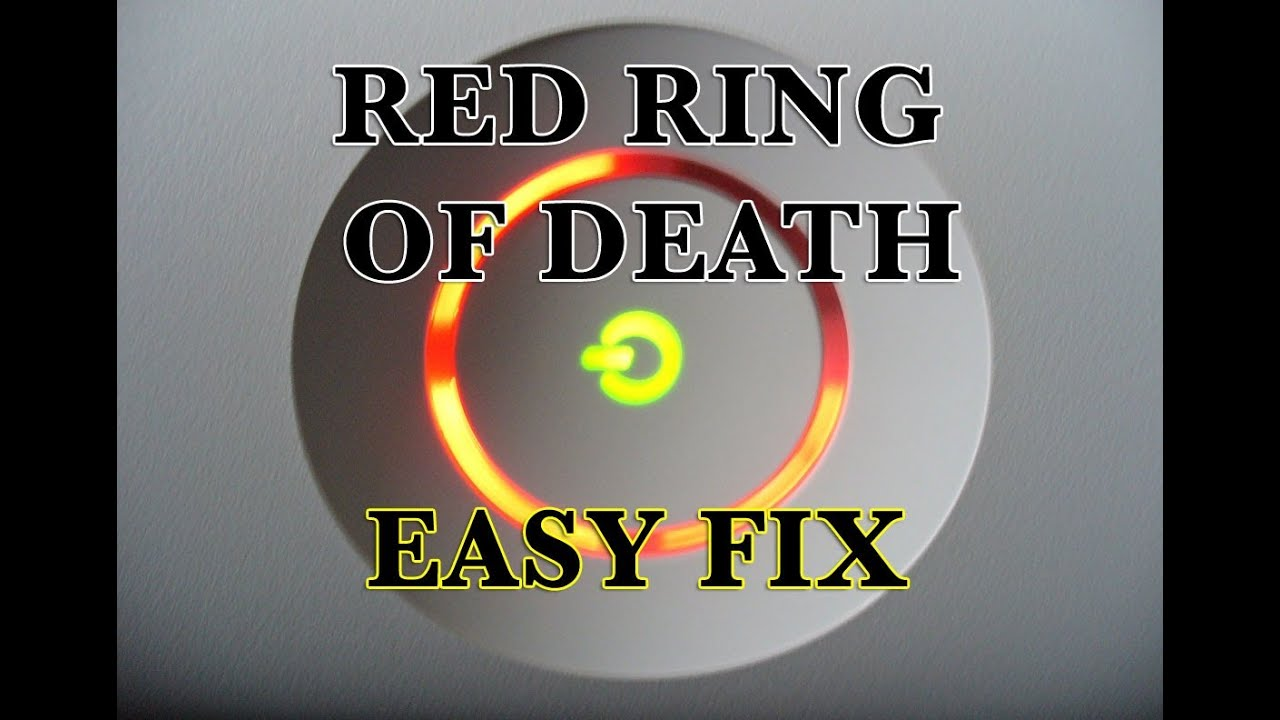 The gallery for --> Xbox 360 Red Ring Of Death Fix