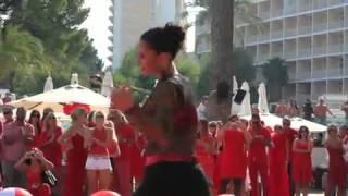 Red closing party at nikki beach mallorca 2012