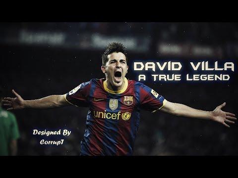 David Villa ● A True Legend ● Best Goals & Skills ● HD ● FC Barcelona ● thumbnail