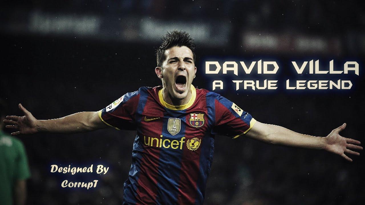 David Villa ○ A True Legend ○ Best Goals & Skills ○ HD ○ FC