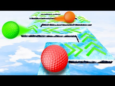 Only One Can MAKE IT TO THE END! - Golf It