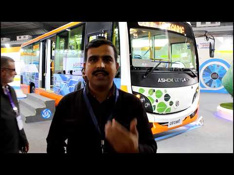 Electric Bus with Battery Swapping First in INDIA