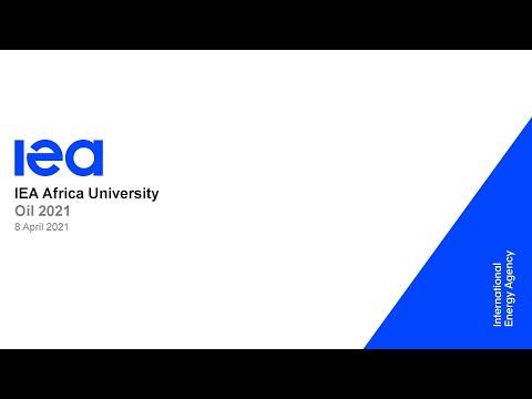 IEA Africa University - Oil Market Annual Report