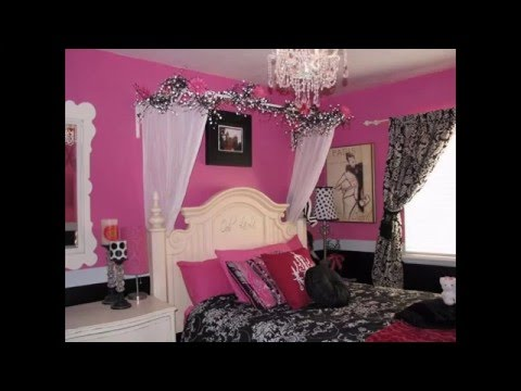 Paris themed teenage bedroom ideas