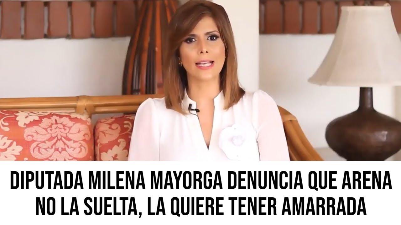 Milena Mayorga Denuncia que Arena No La Suelta y Acusa de Doble Moral