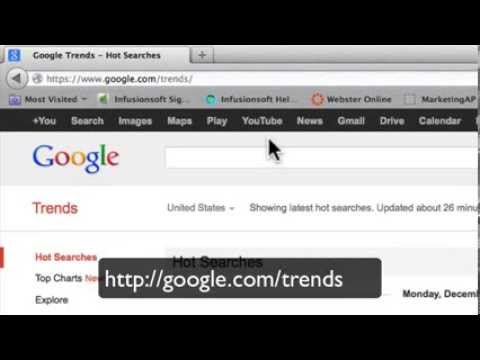 How to Use Google Trends To Do Target Market Research (SEO Basics Part 2 of 17)