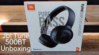 Jbl Tune 500BT Headphone Unboxing