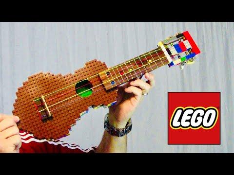 I Built a LEGO Ukulele