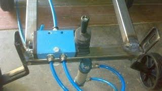 pneumatic jack for four wheeler mechanical mini project