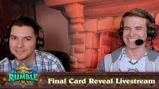 Final Card Reveal Livestream | Rastakhan