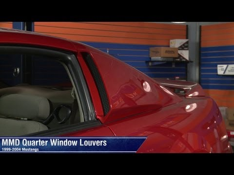Mustang MMD Quarter Window Scoops - Pre-painted (99-04 All) Review