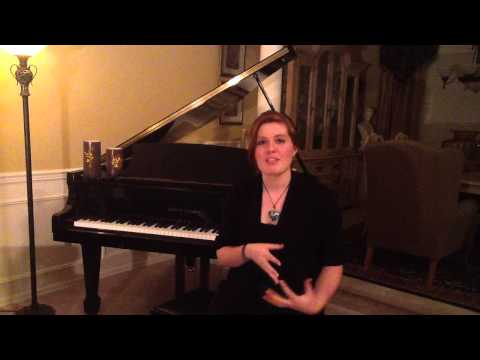Sarah Waddell APU Music Program Audition