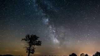 Time-Lapse voie lactée Milky Way