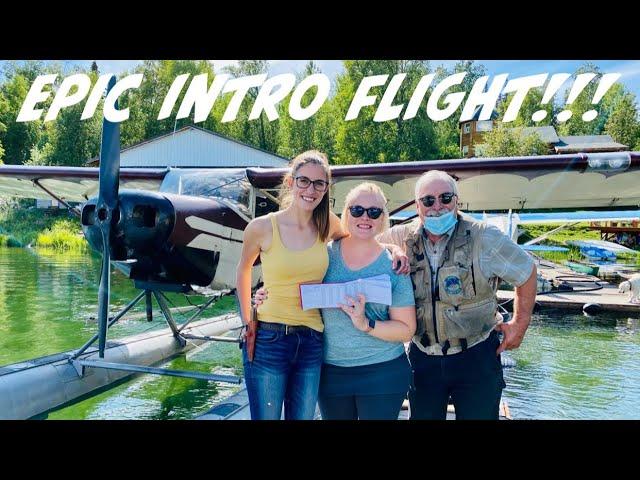 Laura's Intro Flight with Sarah at Alaska Floats and Skis