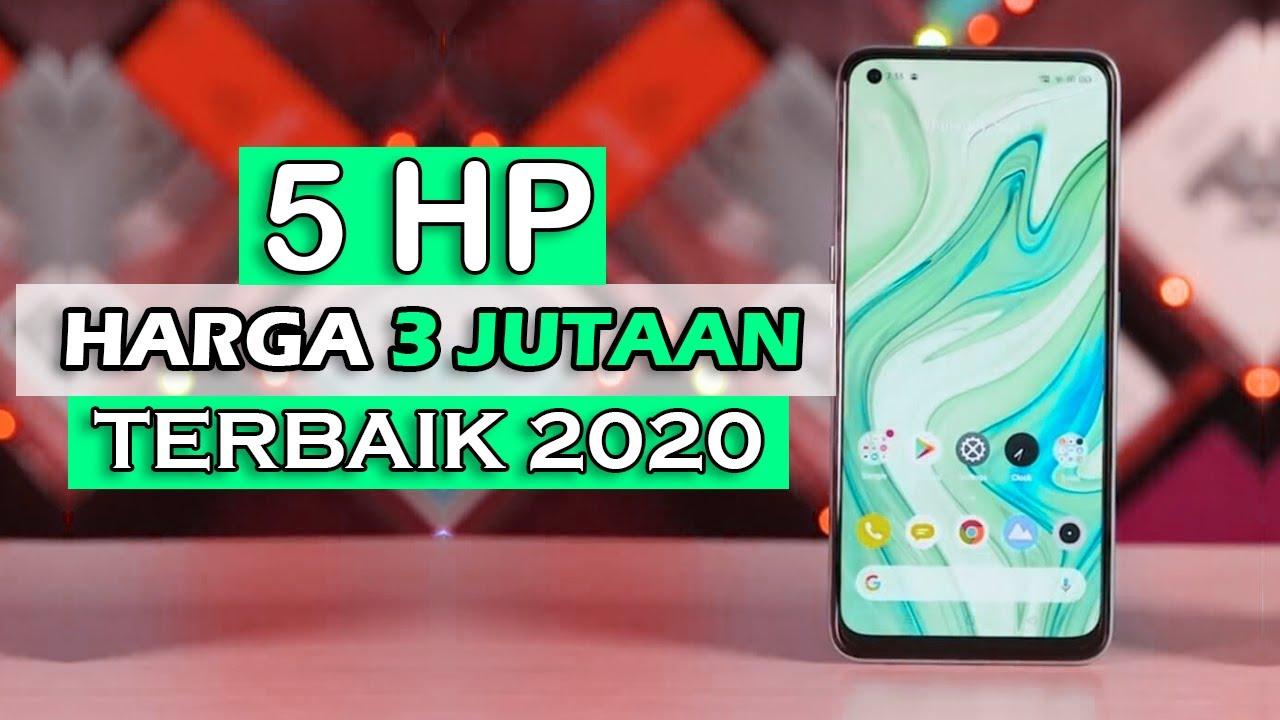 5 HP HARGA 3 JUTAAN TERBAIK 2020 - YouTube