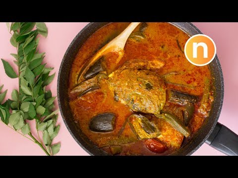 SECRETS TO Fish Head Curry (Mamak) | Kari Kepala Ikan (Mamak) [Nyonya Cooking]