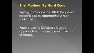 Video Populate DropDown List using Entity Framework Code First Approach download MP3, 3GP, MP4, WEBM, AVI, FLV Juli 2018