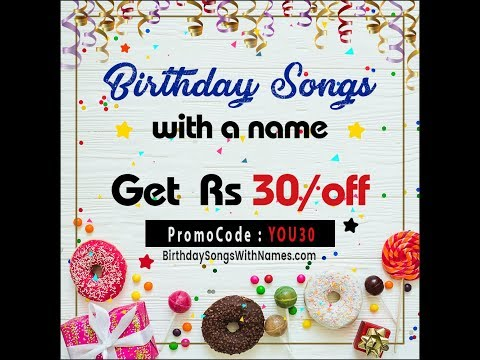 Birthday song for name | Happy Birthday song in hindi | Download happy birthday song with name