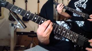 Slayer - Necrophiliac (guitar cover)