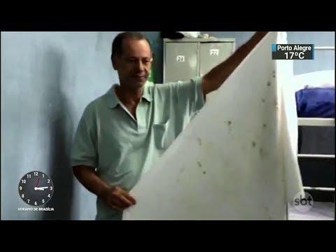 Vídeo mostra situação precária dos abrigos públicos no RJ | SBT Notícias (20/10/17)