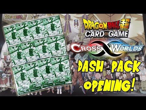 Opening 12 Dragon Ball Super Cross Worlds Dash Packs!