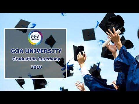 Goa University Graduation Ceremony 2018