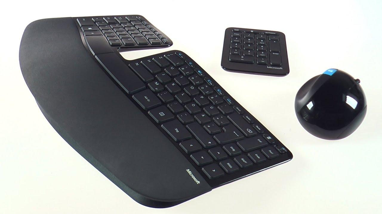 Ergonomische tastatur und maus  Microsoft Sculpt - Ergonomische Maus & Tastatur im Test | CHIP ...