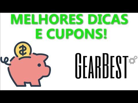Cupons de desconto ATUALIZADOS Gearbest + Super dicas pra economizar!