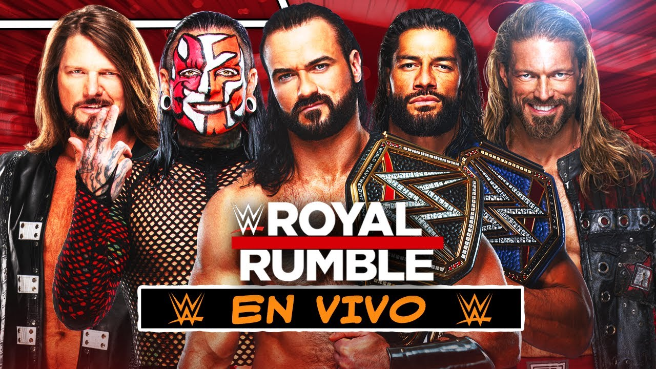 WWE Royal Rumble 2021 EN VIVO  Narración En español